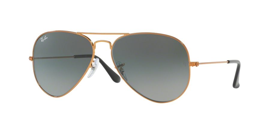 RAY-BAN RB3025 AVIATOR LARGE METAL style-color 197/71 Shiny Bronze