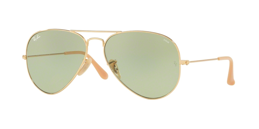 RAY-BAN RB3025 AVIATOR LARGE METAL style-color 90644C Gold