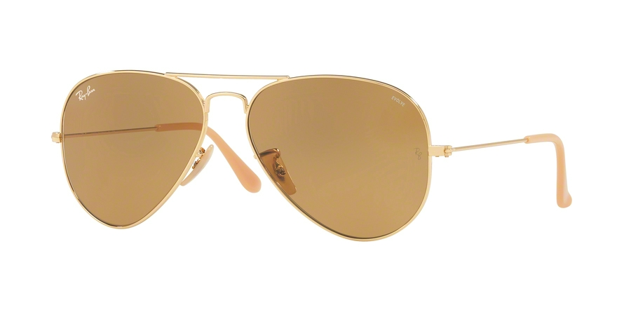 RAY-BAN RB3025 AVIATOR LARGE METAL style-color 90644I Gold