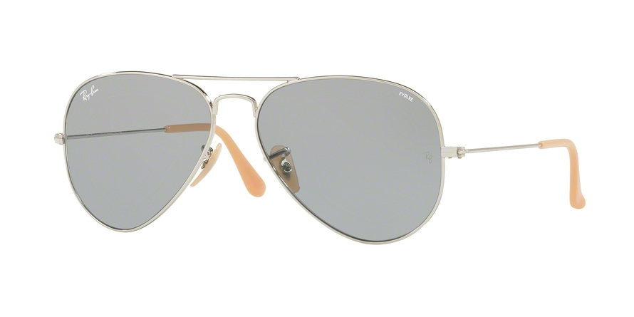 RAY-BAN RB3025 AVIATOR LARGE METAL style-color 9065I5 Silver