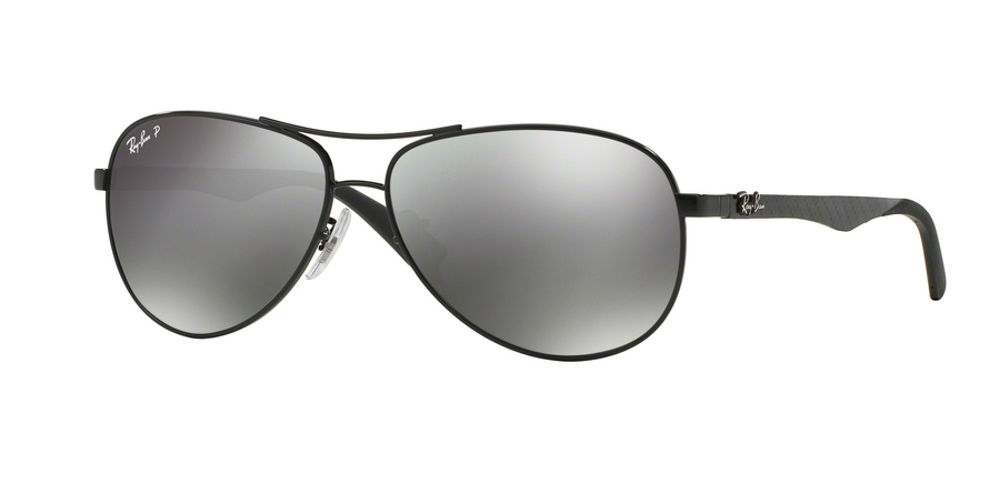 RAY-BAN RB8313 CARBON FIBRE style-color 002/K7 Shiny Black