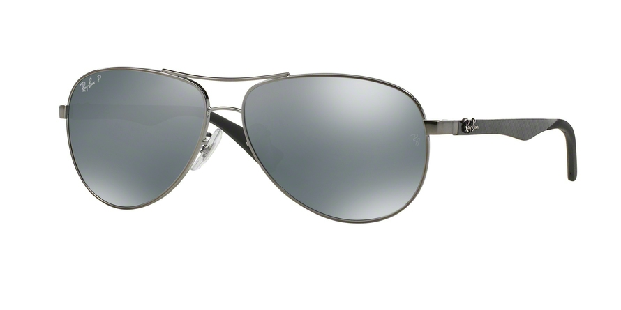 RAY-BAN RB8313 CARBON FIBRE style-color 004/K6 Shiny Gunmetal