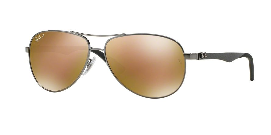 RAY-BAN RB8313 CARBON FIBRE style-color 004/N3 Shiny Gunmetal