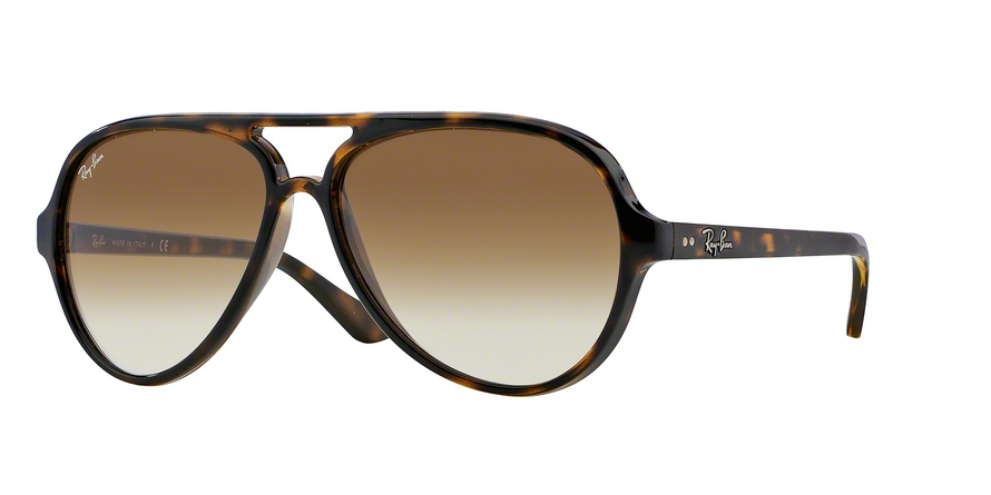 RAY-BAN RB4125 CATS 5000 style-color 710/51 Light Havana