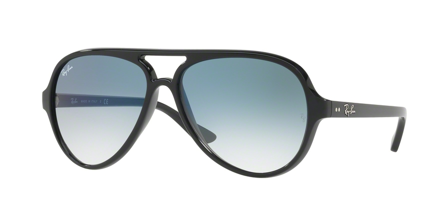 RAY-BAN RB4125 CATS 5000 style-color 601/3F Black