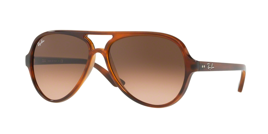 RAY-BAN RB4125 CATS 5000 style-color 820/A5 Stripped Havana