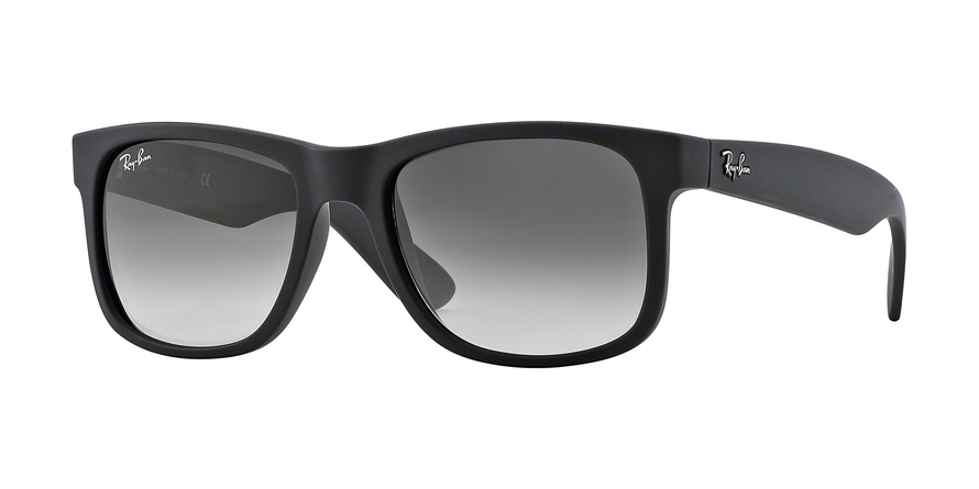 RAY-BAN RB4165 JUSTIN style-color 601/8G Rubber Black