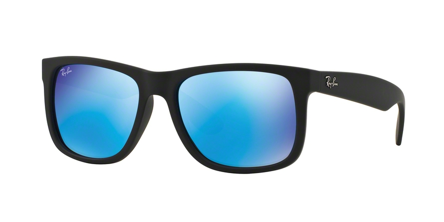 RAY-BAN RB4165 JUSTIN style-color 622/55 Black Rubber
