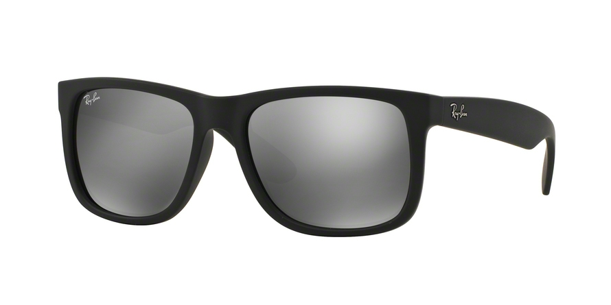 RAY-BAN RB4165 JUSTIN style-color 622/6G Rubber Black