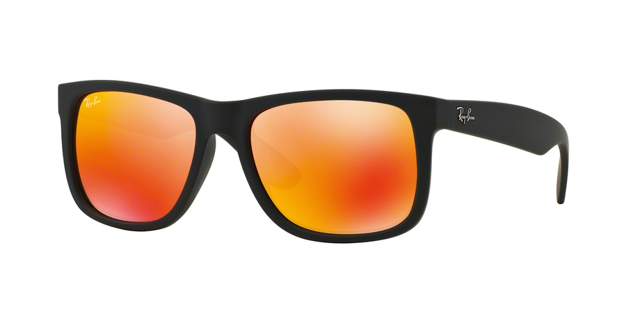 RAY-BAN RB4165 JUSTIN style-color 622/6Q Rubber Black