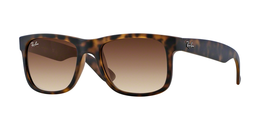 RAY-BAN RB4165 JUSTIN style-color 710/13 Rubber Light Havana