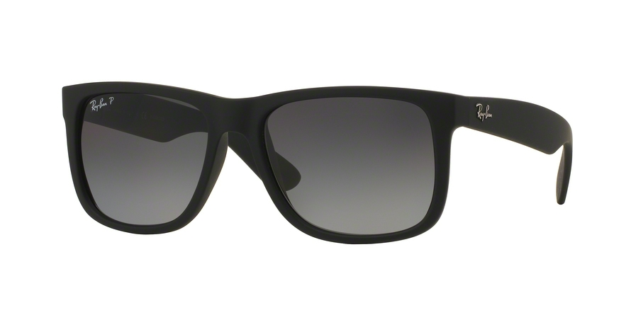 RAY-BAN RB4165 JUSTIN style-color 622/T3 Black Rubber