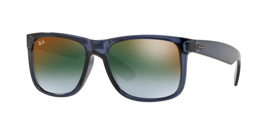 RAY-BAN RB4165 JUSTIN style-color 6341T0 Trasparent Blue