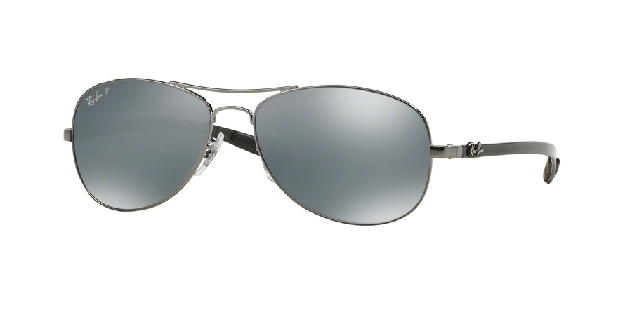 RAY-BAN RB8301 style-color 004/K6 Shiny Gunmetal