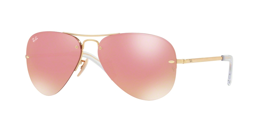 RAY-BAN RB3449 style-color 001/E4 Gold