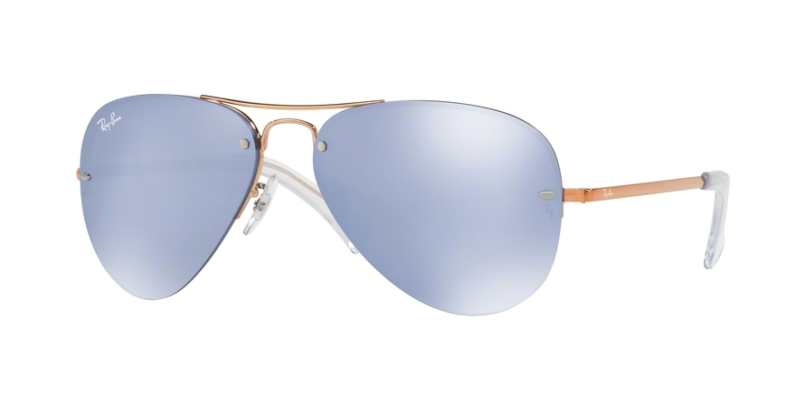 RAY-BAN RB3449 style-color 90351U Copper