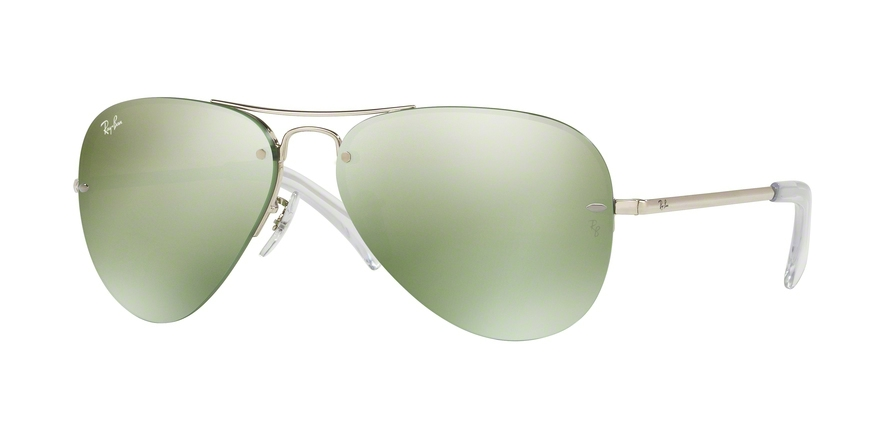 RAY-BAN RB3449 style-color 904330 Silver