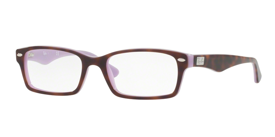 RAY-BAN RX5206 style-color 5240 Top Havana ON Opal Violet
