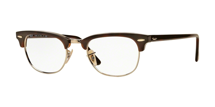 RAY-BAN RX5154 CLUBMASTER style-color 2372 Red Havana