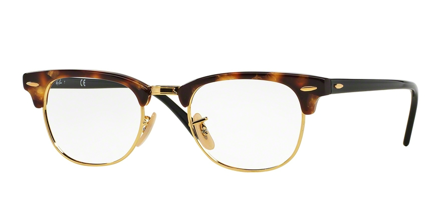 RAY-BAN RX5154 CLUBMASTER style-color 5494 Brown Havana