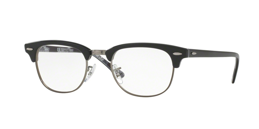 RAY-BAN RX5154 CLUBMASTER style-color 5649 Black ON Texture Camuflage