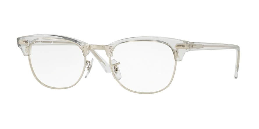 RAY-BAN RX5154 CLUBMASTER style-color 2001 White Trasparent