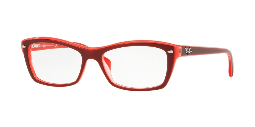 RAY-BAN RX5255 (51) style-color 5777 Top Fuxia / Pink / Transp Fuxia