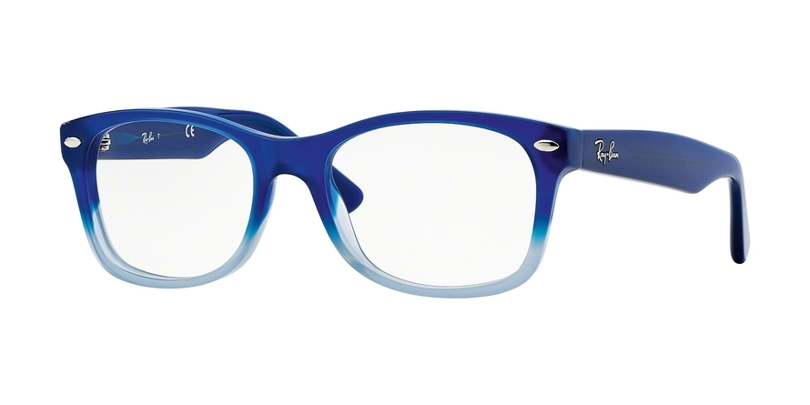 RAY-BAN RY1528 style-color 3581 Opal Blue Faded Opal Azure
