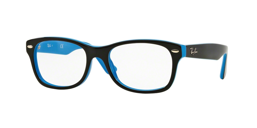 RAY-BAN RY1528 style-color 3659 Top Black ON Azure