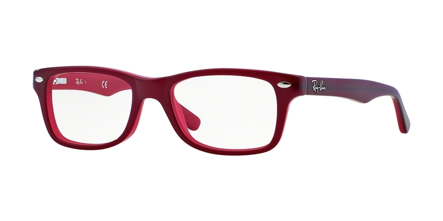 RAY-BAN RY1531 style-color 3592 Top Red ON Opalin Red