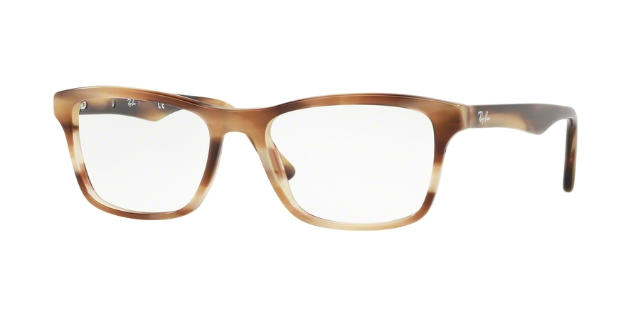 RAY-BAN RX5279 style-color 5775 Horn Beige Brown