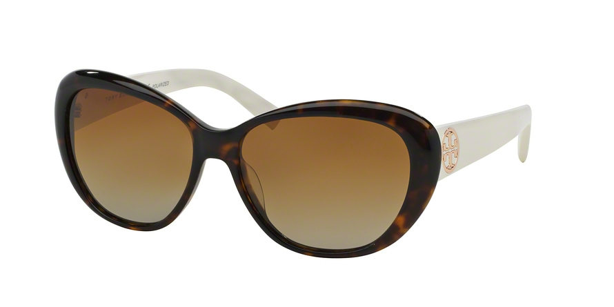 TORY BURCH TY7005 TORY C03 style-color 1327T5 Dark Tortoise / Ivory