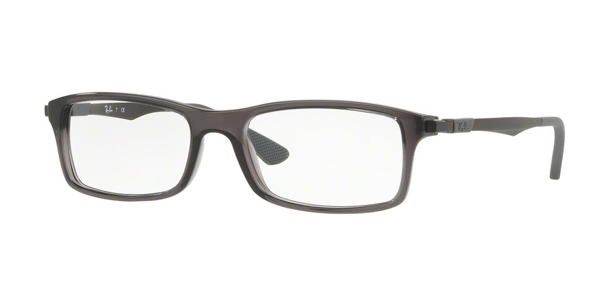 RAY-BAN RX7017 style-color 5620 Trasparent Grey