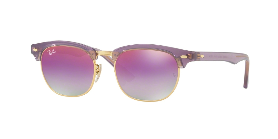 RAY-BAN RJ9050S JUNIOR CLUBMASTER style-color 7036A9 Trasparent Violet
