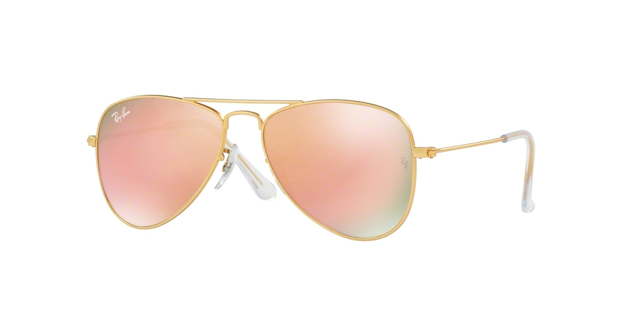 RAY-BAN RJ9506S JUNIOR AVIATOR style-color 249/2Y Matte Gold