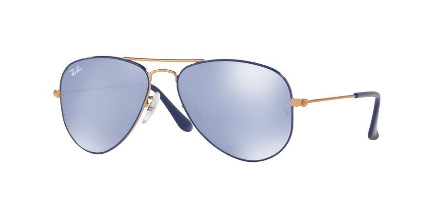 RAY-BAN RJ9506S JUNIOR AVIATOR style-color 264/1U Copper Top ON Blue
