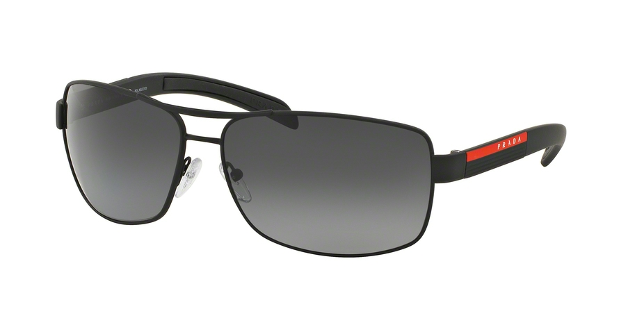 PRADA LINEA ROSSA PS 54IS style-color DG05W1 Black Rubber