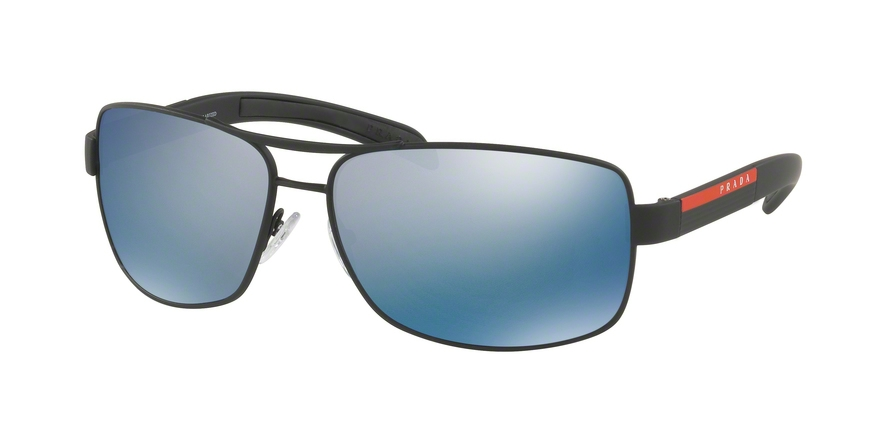 PRADA LINEA ROSSA PS 54IS style-color DG02E0 Black Rubber
