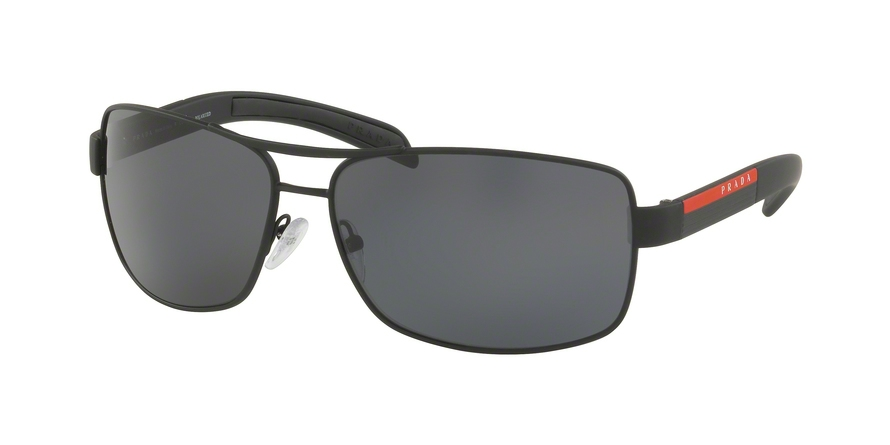 PRADA LINEA ROSSA PS 54IS style-color DG05Z1 Black Rubber