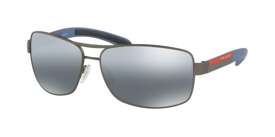PRADA LINEA ROSSA PS 54IS style-color DG12F2 Gunmetal Rubber