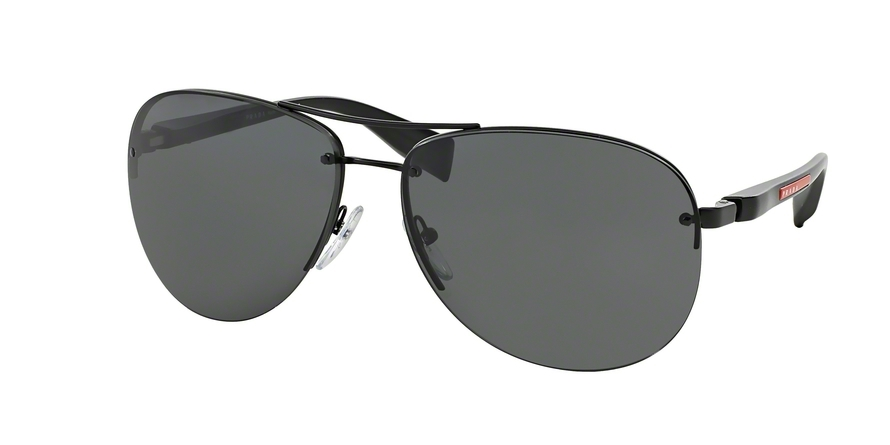 PRADA LINEA ROSSA PS 56MS (65) style-color 1BO1A1 Black Demi Shiny