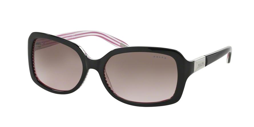 RALPH RA5130 style-color 109214 Black / Pink Stripe