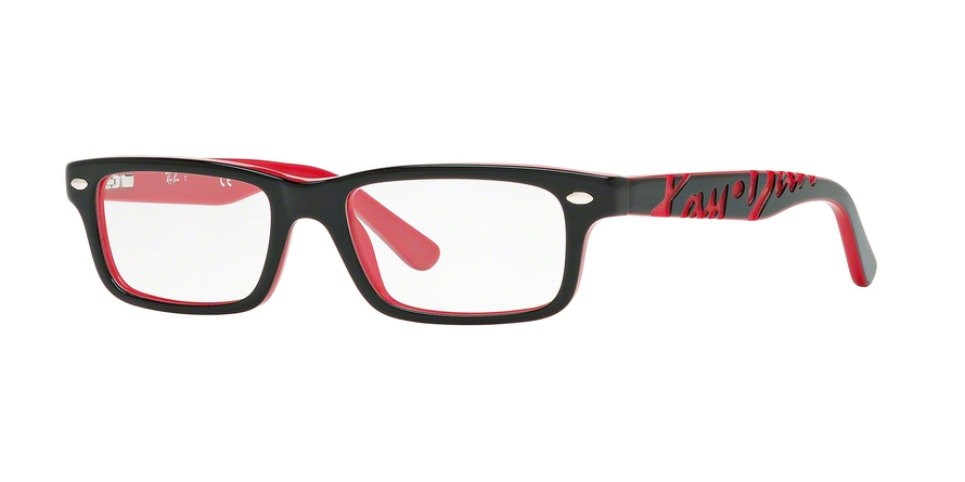 RAY-BAN RY1535 style-color 3573 Top Black ON Red