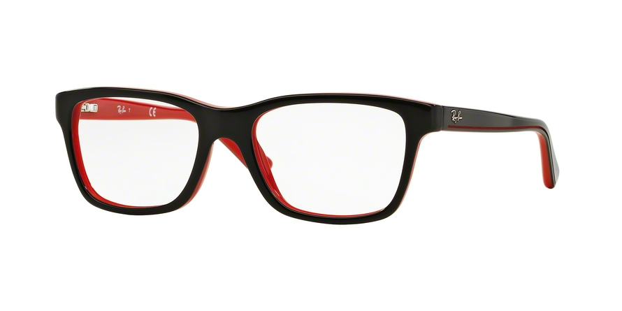 RAY-BAN RY1536 style-color 3573 Top Black ON Red