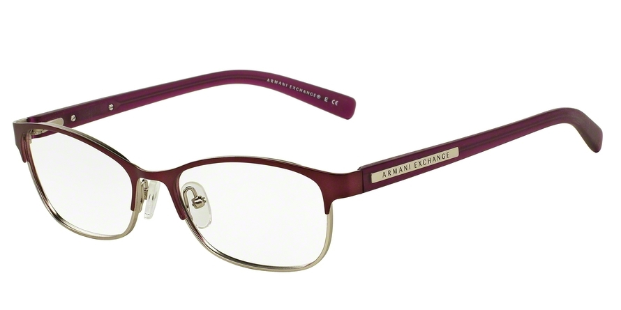 EXCHANGE ARMANI AX1010 style-color 6050 Satin Berry Jam / Satin Silver