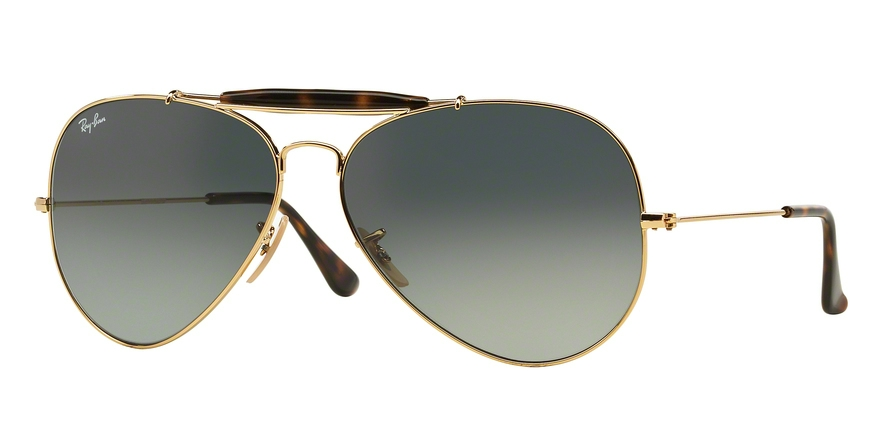 RAY-BAN RB3029 OUTDOORSMAN II style-color 181/71 Gold