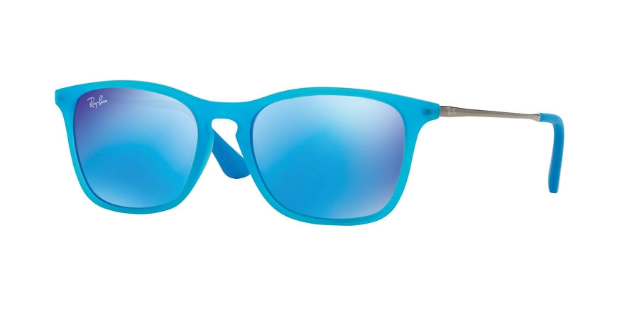 RAY-BAN RJ9061S style-color 701155 Azure Fluo Trasparent Rubber