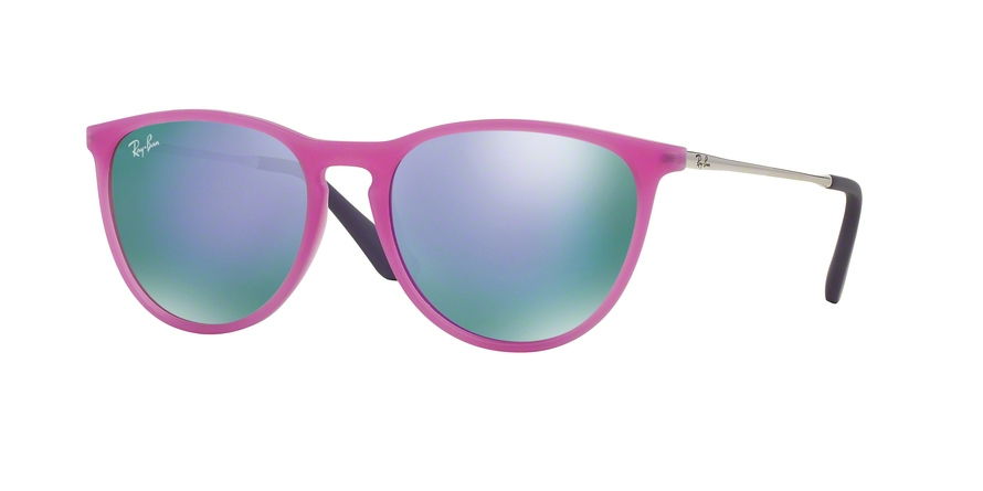 RAY-BAN RJ9060S style-color 70084V Violet Fluo Trasp Rubber