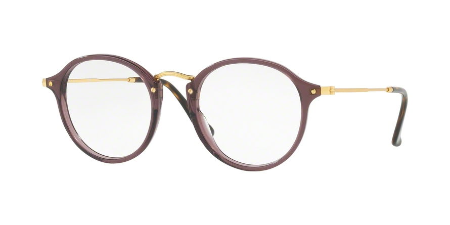RAY-BAN RX2447V ROUND style-color 8032 Opal Brown