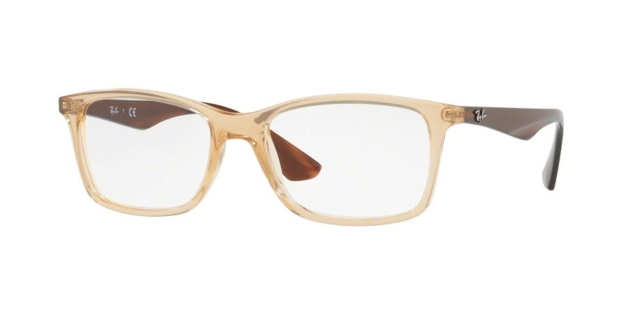 RAY-BAN RX7047 style-color 5770 Trasparent Beige